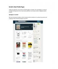 Scribd s New Profile Pages